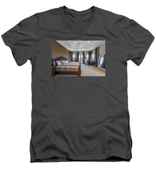 Master Bedroom Men's V-Neck T-Shirt