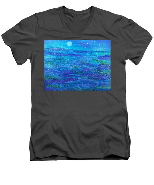 Midnight Swim Men's V-Neck T-Shirt