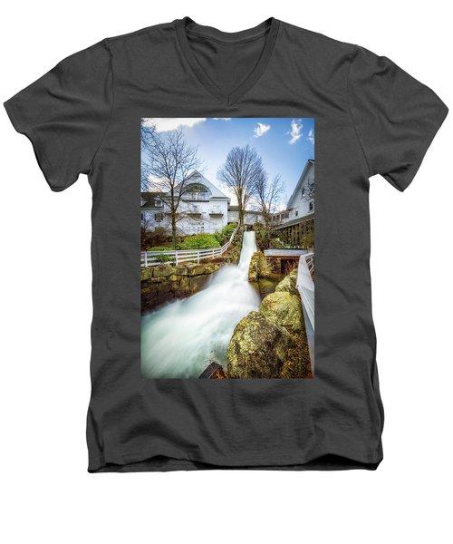 Mill Falls Men's V-Neck T-Shirt