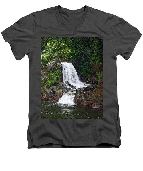 Mini Waterfall Men's V-Neck T-Shirt