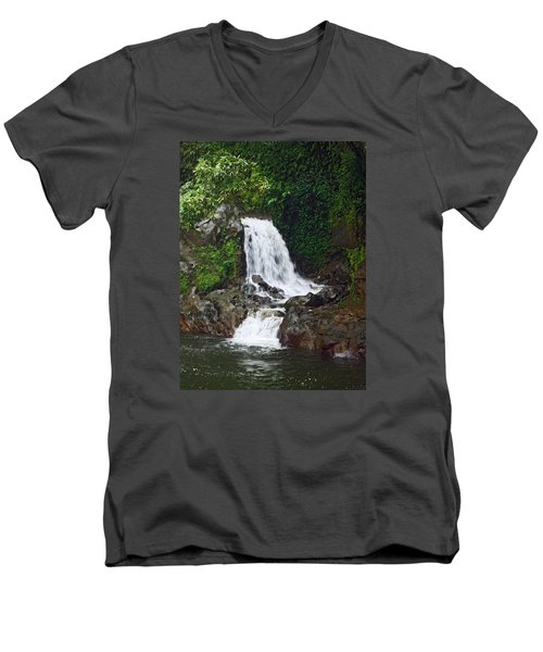 Mini Waterfall Men's V-Neck T-Shirt