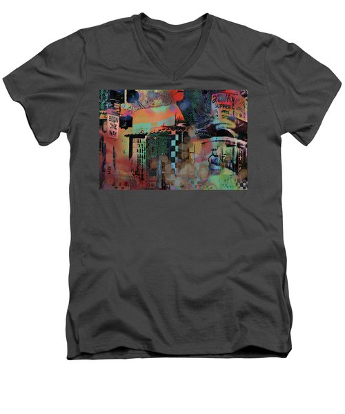 Minneapolis Collage Men's V-Neck T-Shirt
