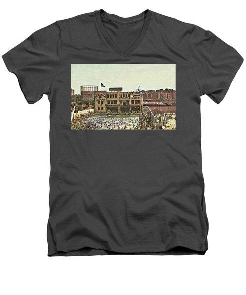 Miramar Saltwater Pool  Men's V-Neck T-Shirt