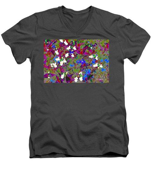 Mixed Salad  Men's V-Neck T-Shirt