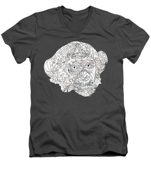 Monkey Men's V-Neck T-Shirt
