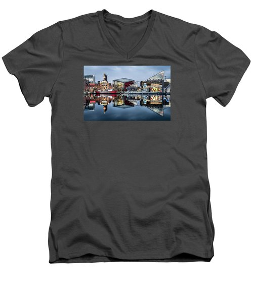 More Baltimore Men's V-Neck T-Shirt