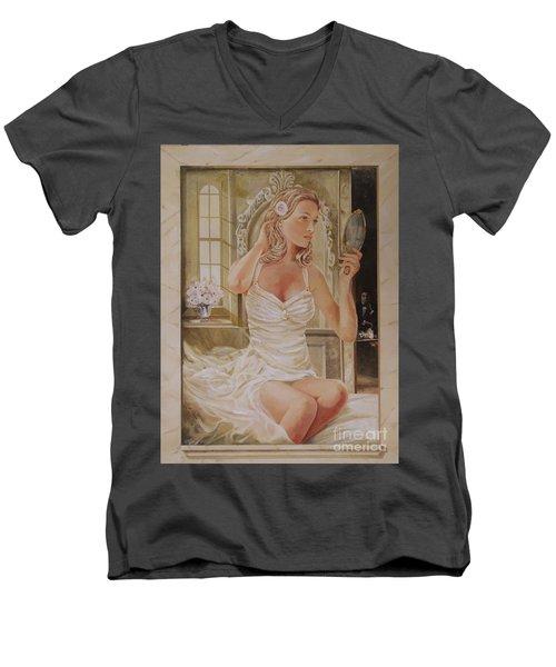 Morning Beauty Men's V-Neck T-Shirt
