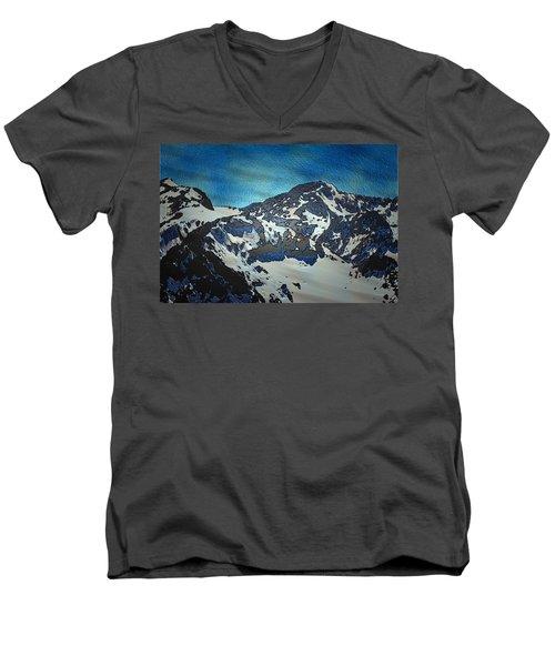 Mountain Men's V-Neck T-Shirt