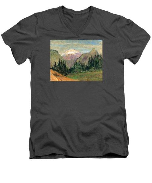 Mountain View Men's V-Neck T-Shirt
