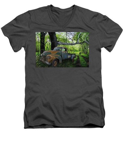 The Ol' Mushroom Hauler Men's V-Neck T-Shirt