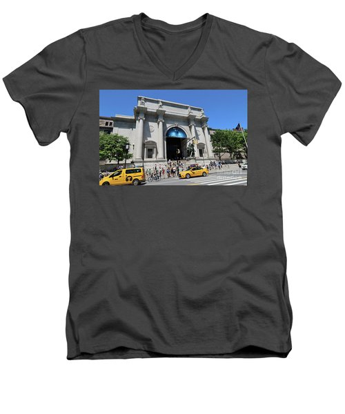 Museum Of Natural History Men's V-Neck T-Shirt
