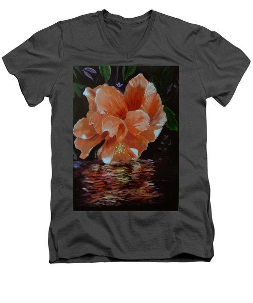 My Hibiscus Men's V-Neck T-Shirt