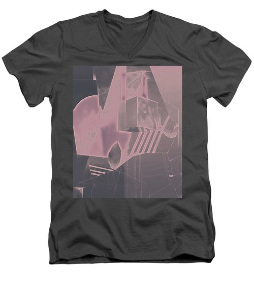 Mysterious Men's V-Neck T-Shirt by Roro Rop