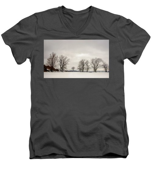 Naked Treeline Men's V-Neck T-Shirt