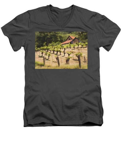 Napa Barn Men's V-Neck T-Shirt
