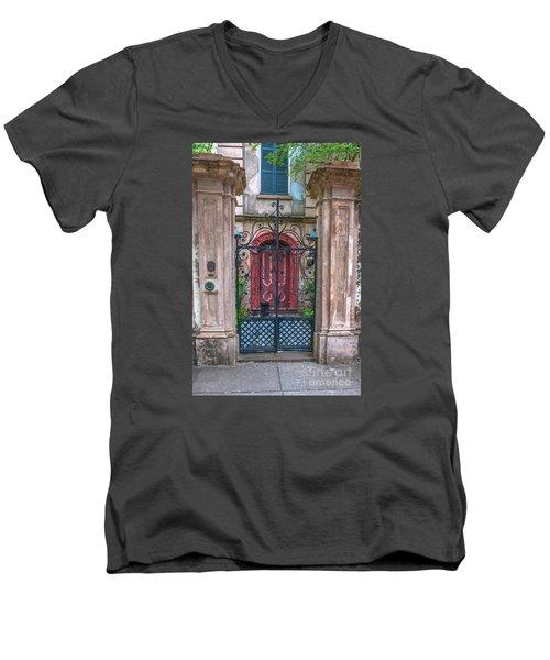 Narrow Is The Gate Men's V-Neck T-Shirt