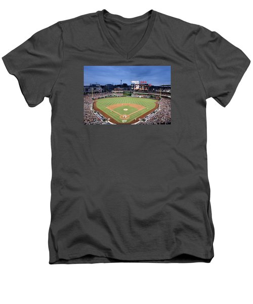 Nats Park - Washington Dc Men's V-Neck T-Shirt