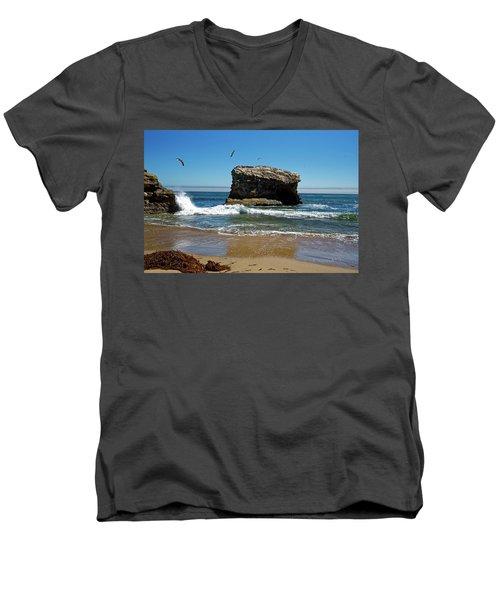 Natural Bridges State Park Men's V-Neck T-Shirt