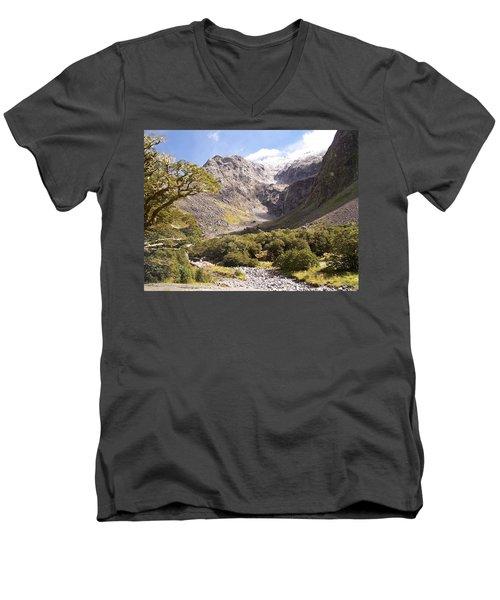 New Zealand Landscape Men's V-Neck T-Shirt