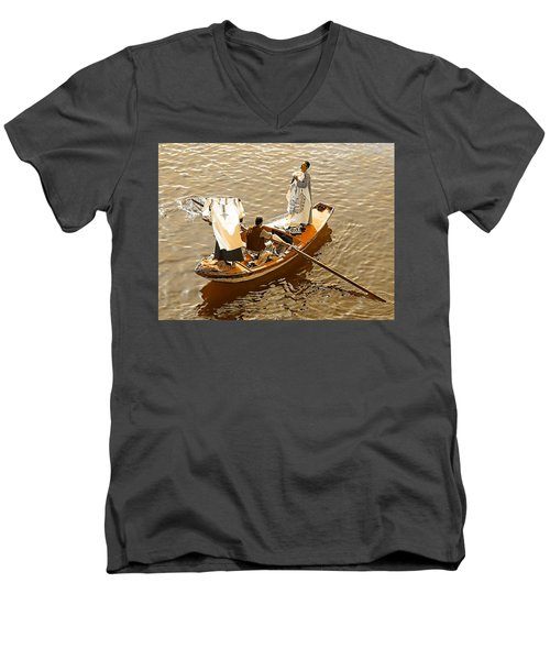 Nile River Merchants Men's V-Neck T-Shirt