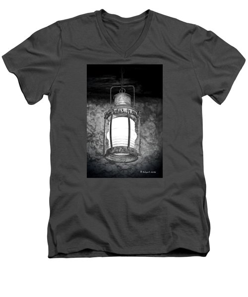 No Title Men's V-Neck T-Shirt by Edgar Torres