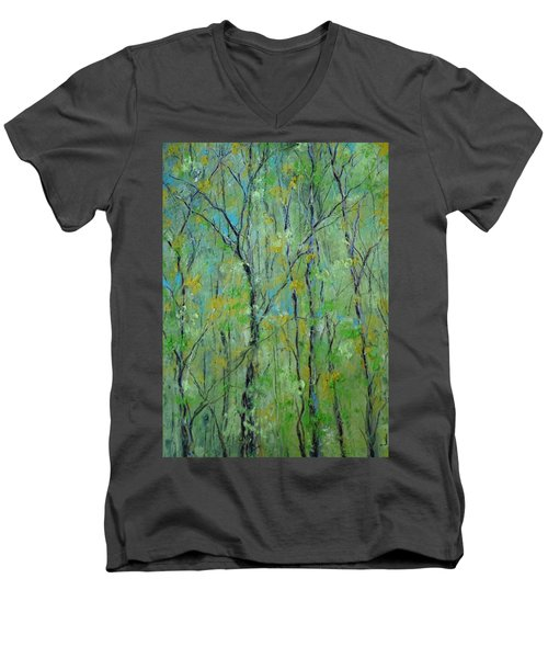 Awakening Of Spring Men's V-Neck T-Shirt