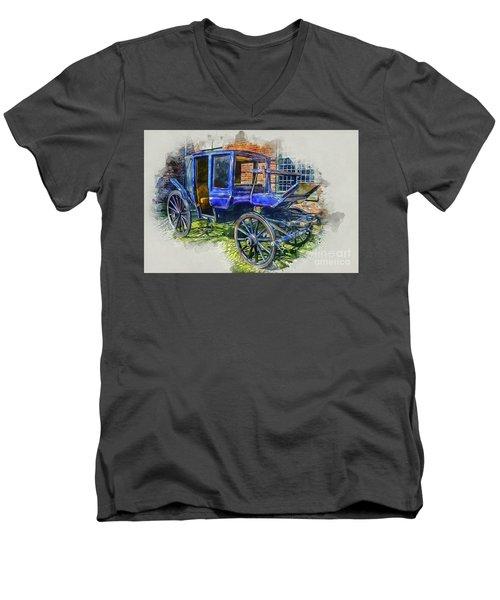 Old Stagecoach Men's V-Neck T-Shirt
