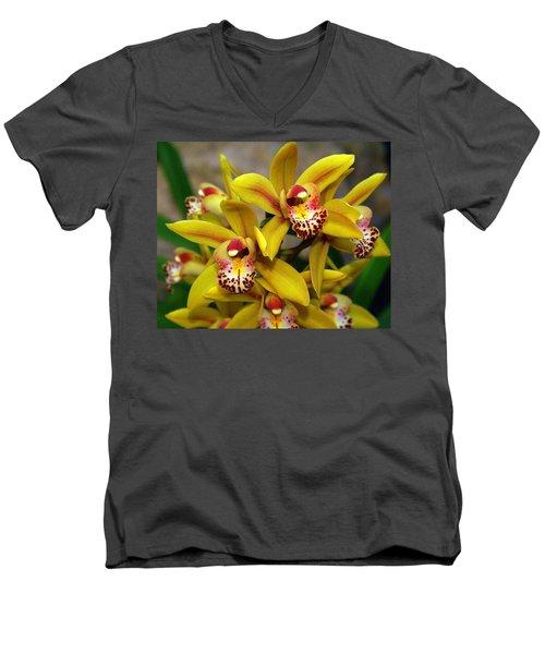 Orchid 9 Men's V-Neck T-Shirt