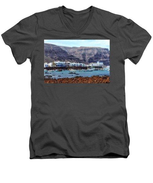 Orzola - Lanzarote Men's V-Neck T-Shirt
