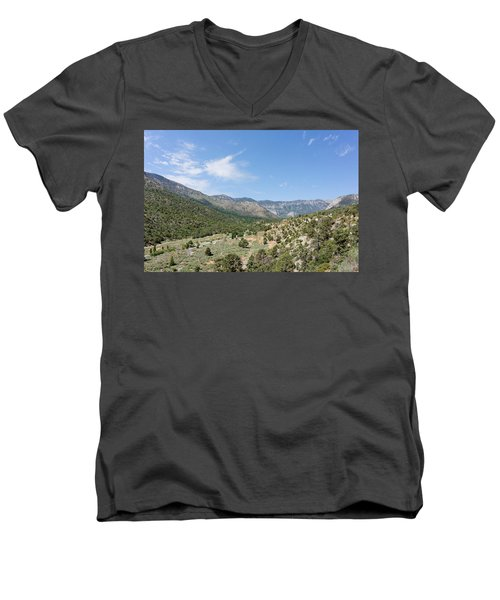 Out Back Men's V-Neck T-Shirt