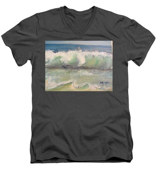 Pacific Wave Men's V-Neck T-Shirt