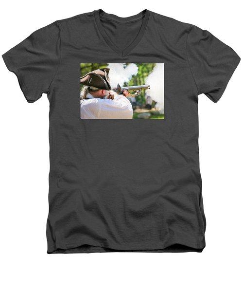 Page 19 Men's V-Neck T-Shirt