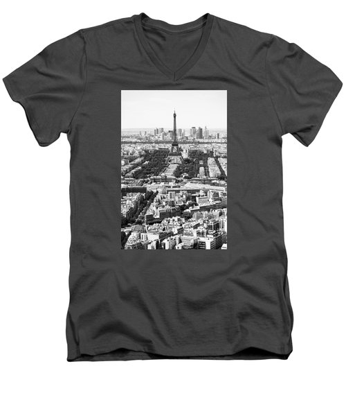Paris Men's V-Neck T-Shirt