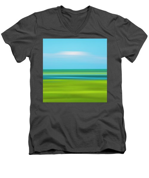 Passing Cloud Men's V-Neck T-Shirt