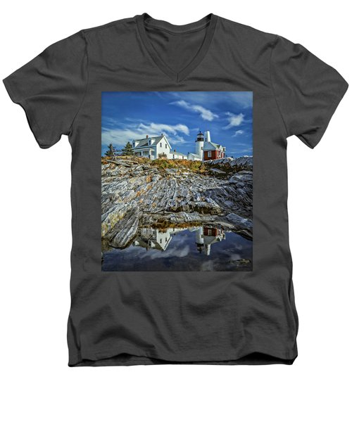 Pemaquid Reflections Men's V-Neck T-Shirt