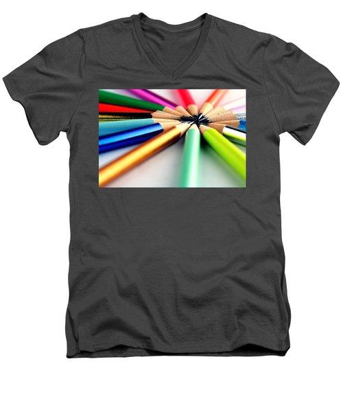 Pencils Men's V-Neck T-Shirt