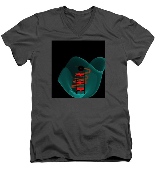 Penman Original-149 Men's V-Neck T-Shirt by Andrew Penman