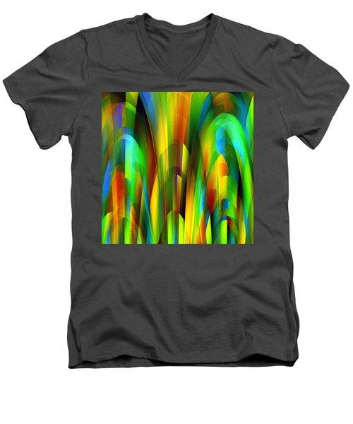 Penman Original-505 Men's V-Neck T-Shirt by Andrew Penman