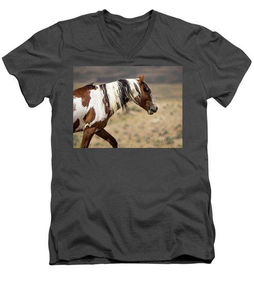 Picasso Of Sand Wash Basin Men's V-Neck T-Shirt
