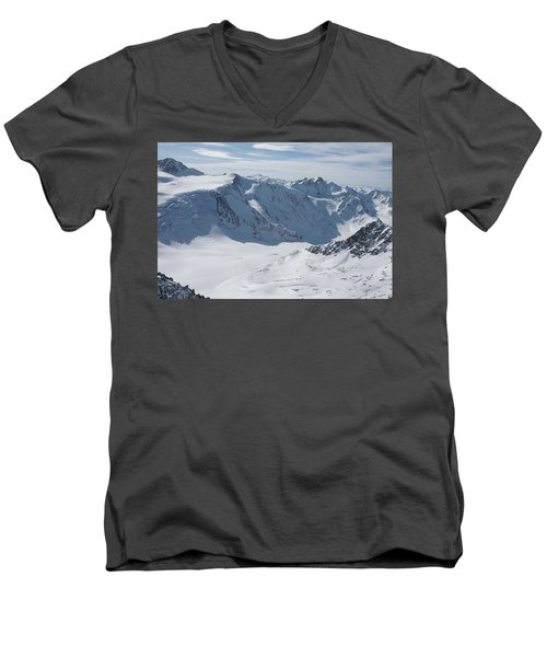 Pitztal Glacier Men's V-Neck T-Shirt