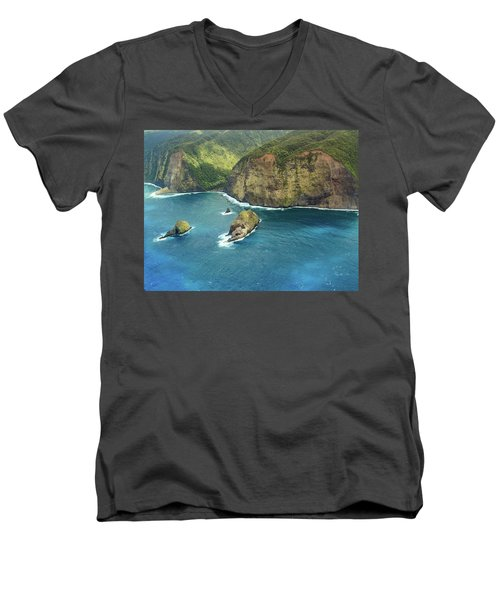 Pololu Point Men's V-Neck T-Shirt