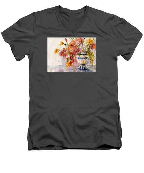 Poppies Men's V-Neck T-Shirt