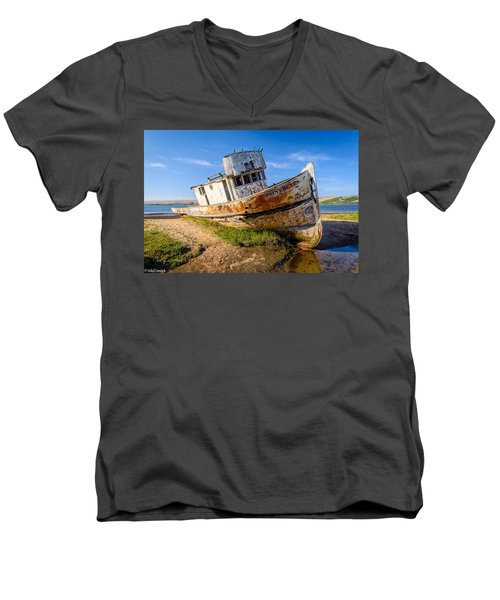 Pt Reyes Men's V-Neck T-Shirt