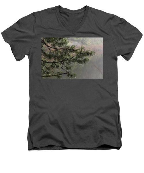 Rain Drops Men's V-Neck T-Shirt