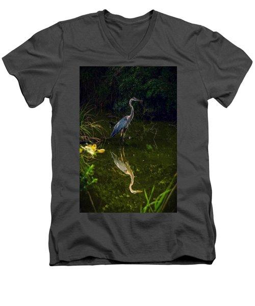 Reflect. Men's V-Neck T-Shirt