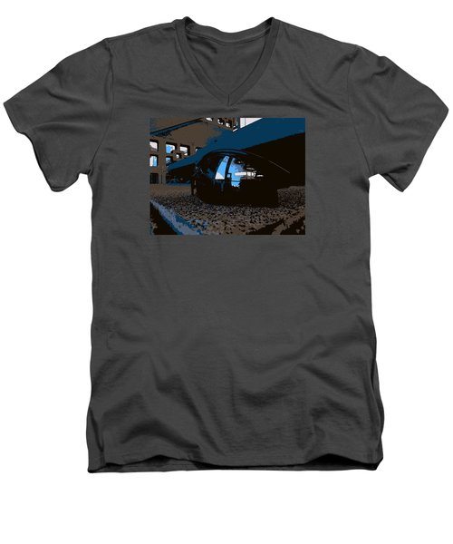 Reflections Men's V-Neck T-Shirt by John Rossman