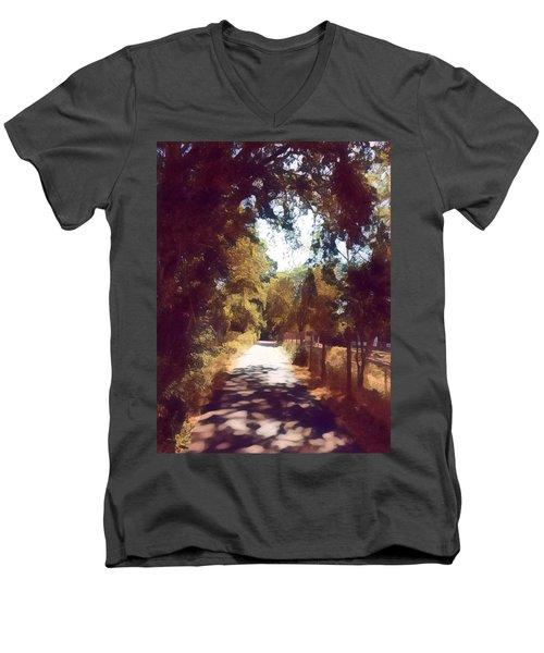 Riverside Park Men's V-Neck T-Shirt