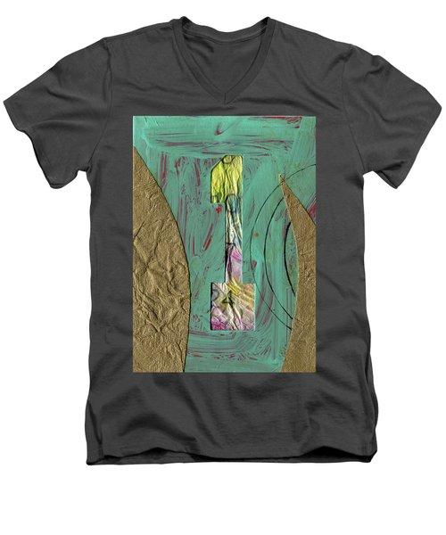 Number 1 Men's V-Neck T-Shirt