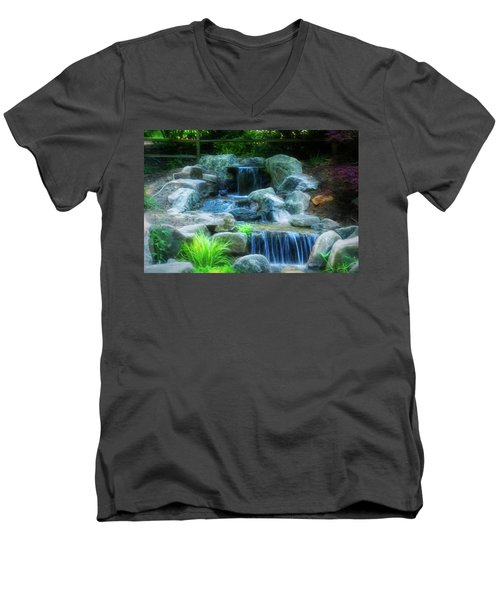 Rock Slide Men's V-Neck T-Shirt