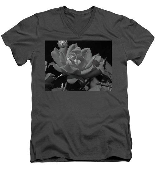 Rosey Bloom Men's V-Neck T-Shirt